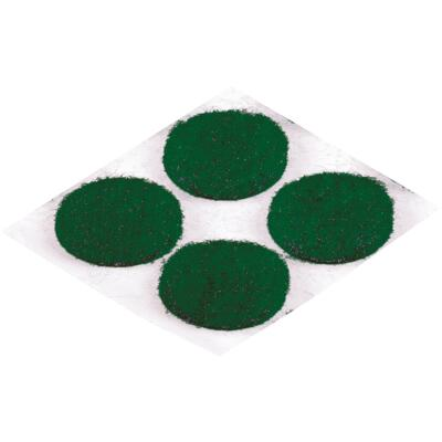 Do it 3/4 In. Green Round Felt Pad (12-Count)