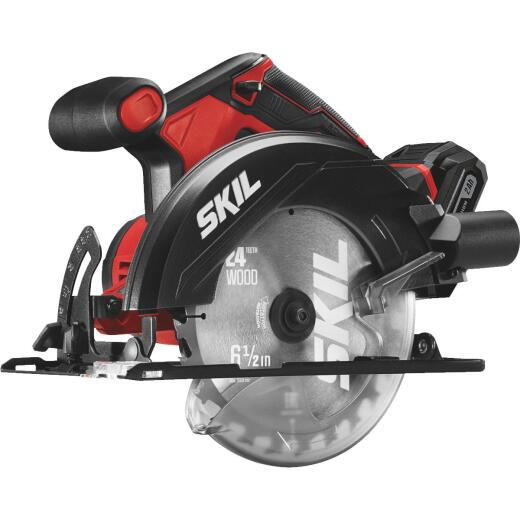 SKIL PWRCore 20 Volt Lithium-Ion 6-1/2 In. Cordless Circular Saw Kit