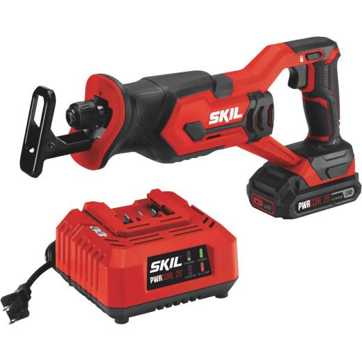 SKIL PWRCore 20 Volt Lithium-Ion Cordless Reciprocating Saw Kit