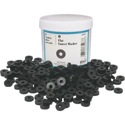 Danco 17/32 In. Black Flat Faucet Washer (200 Ct.)