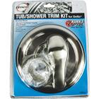 Danco Universal Delta Tub and Shower Trim Kit, Brushed Nickel Image 2
