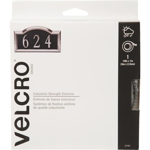 VELCRO Brand 1 In. x 10 Ft. Black Industrial Strength Extreme Hook & Loop Roll