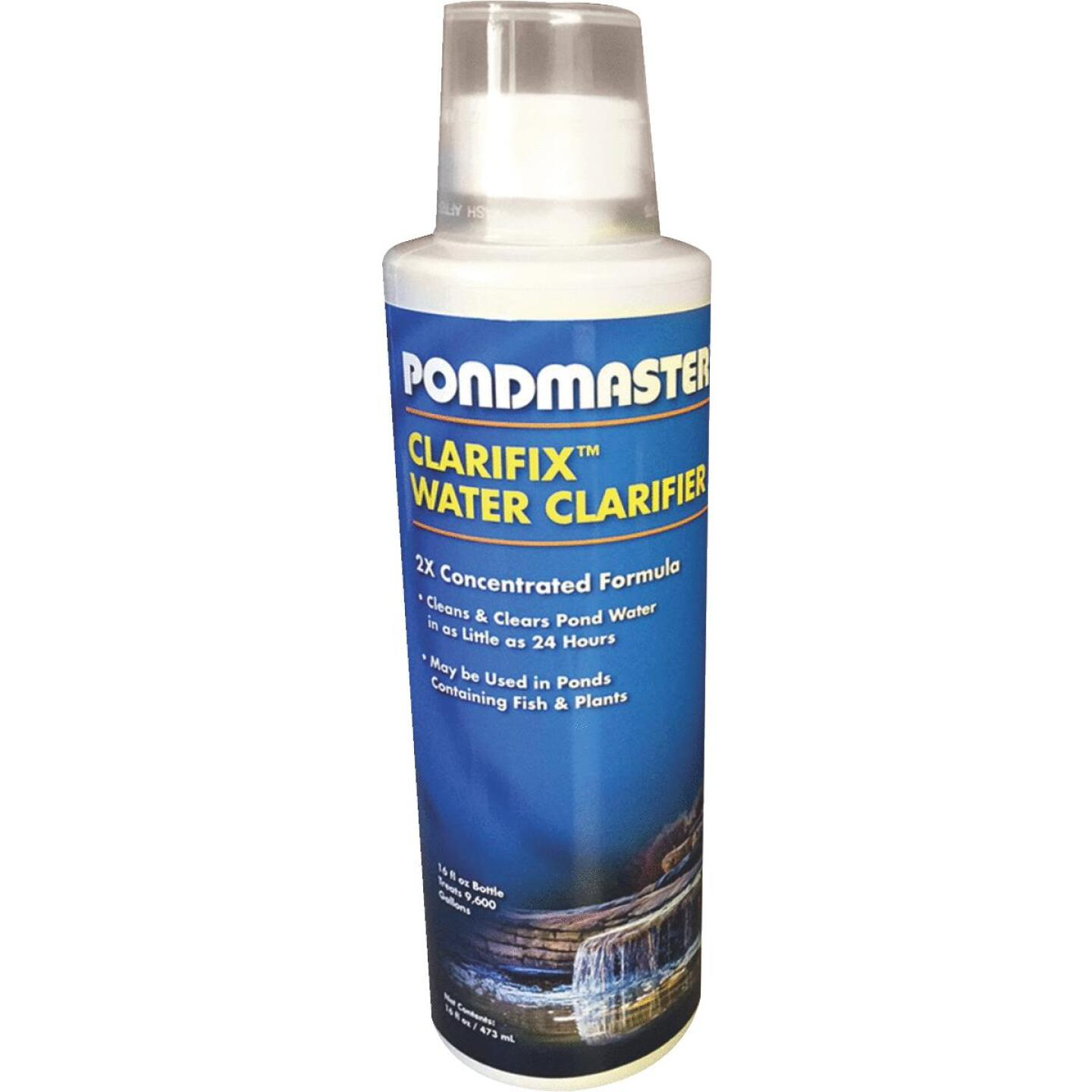 PondMaster Clarifix 16 Oz. 9600 Gal. Coverage Area Water Treatment Pond Cleaner Image 1