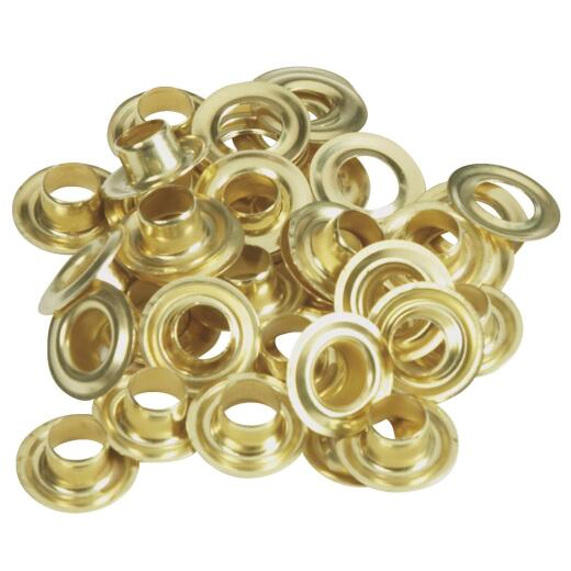 Lord & Hodge 1/4 In. Brass Grommet Refills (24 Ct.)