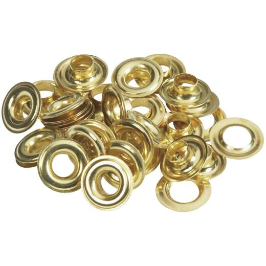 Lord & Hodge 5/16 In. Brass Grommet Refills (24 Ct.)